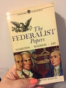 book cover of The Federalist Papers